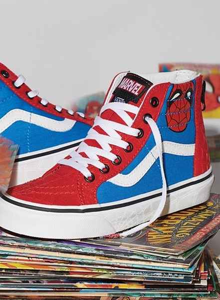 f6f7483647 The Vans x Marvel sneakers pack is here to unleash the superhero within  you. The epic collab-collection features Marvel s greatest superheroes and  villains ...